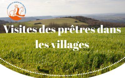 Visites des prêtres dans les villages
