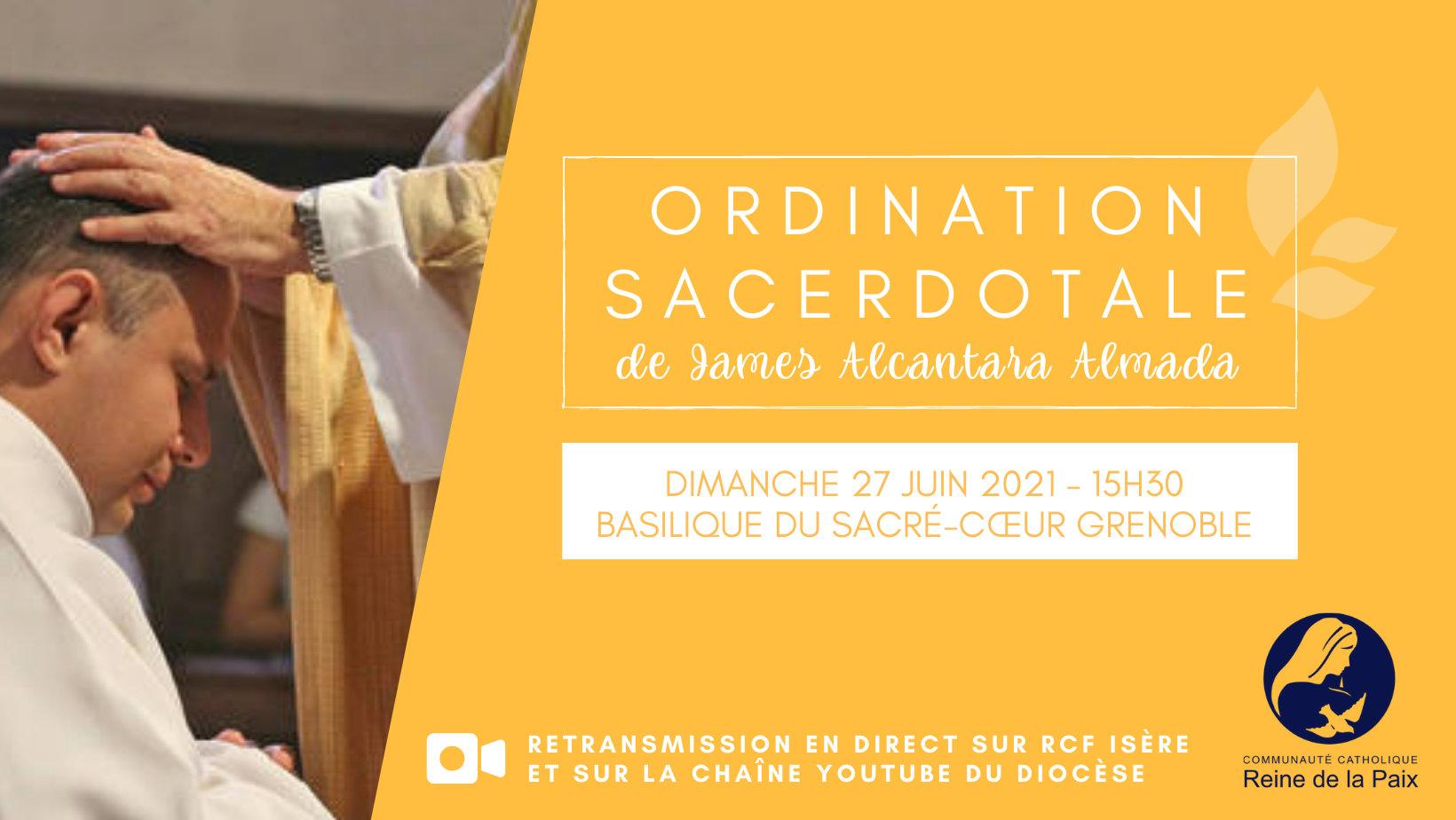 ordination james - isère