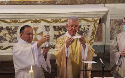 Neuvaine pour l'ordination de James